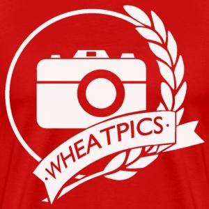 WheatPics White Logo - Men's Premium T-Shirt