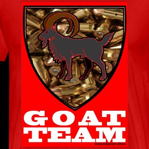 Goat Team Bilzerian - Men's Premium T-Shirt