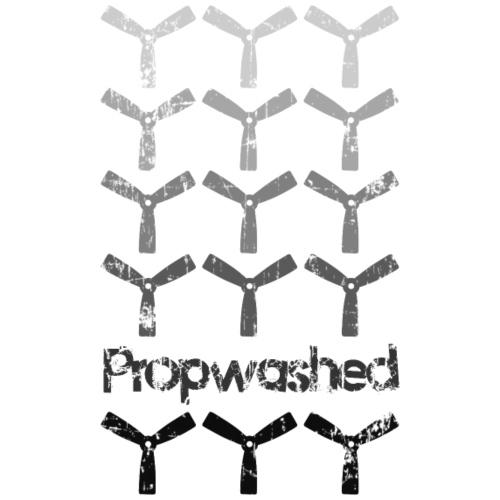 Propwashed Bullnose Prop Greys - Men's Premium T-Shirt