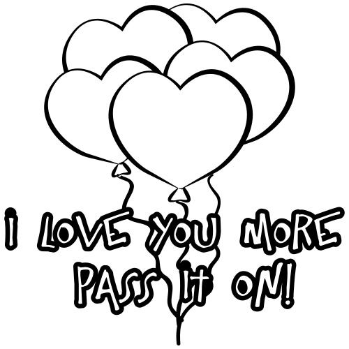 Balloons of Love! - Men's Premium T-Shirt