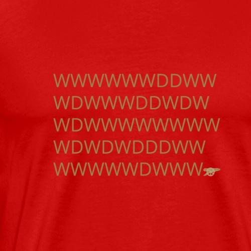 Arsenal Invincible Results - Men's Premium T-Shirt