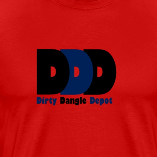 DDD Black/Navy/Black - Men's Premium T-Shirt