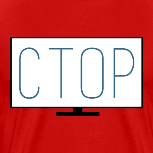 Ctop Screen Logo - Men's Premium T-Shirt