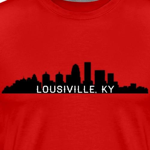Lousiville Skyline Black - Men's Premium T-Shirt