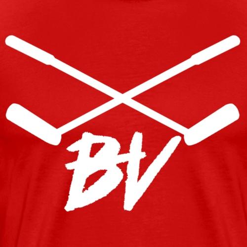 BHV Golf Clubs (White Logo) - Men's Premium T-Shirt