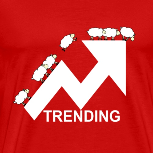 Trending sheep - Men's Premium T-Shirt