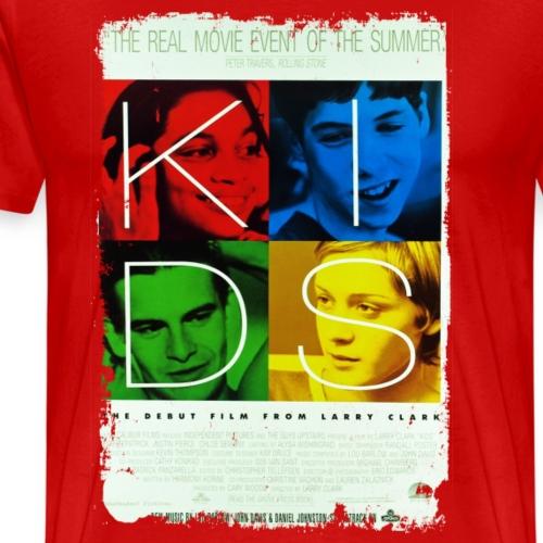 Kids Movie Poster 1995 Vintage Distressed T Shirt - Men's Premium T-Shirt