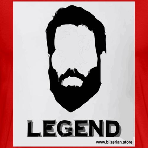 Bilzerian Legend Face - Men's Premium T-Shirt