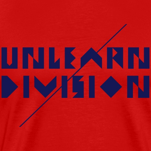 Unlearn Division - Men's Premium T-Shirt