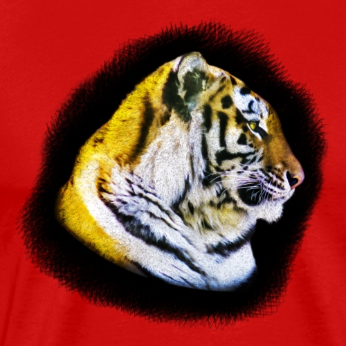 Tigers Head - Men's Premium T-Shirt