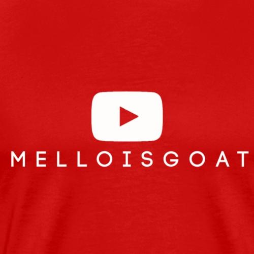 MelloIsGoat YOUTUBE W - Men's Premium T-Shirt