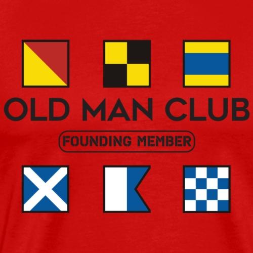 Old Man Club Black Ink - Men's Premium T-Shirt