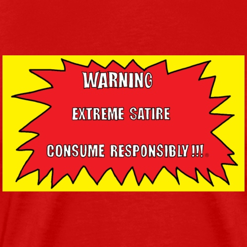 GUITAR FEVER L.A.: WARNING EXTREME SATIRE - Men's Premium T-Shirt