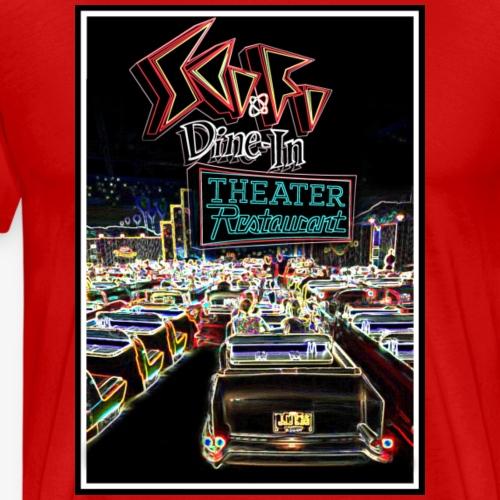Sci-Fi Drive-In Theater - Men's Premium T-Shirt