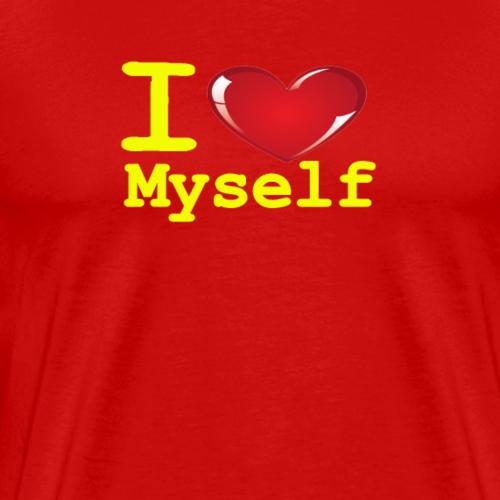 i Love Myself -Yellow- Best Selling Design - Men's Premium T-Shirt