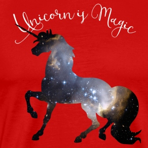 unicorn-universum Girl magic mystic Dream pink - Men's Premium T-Shirt
