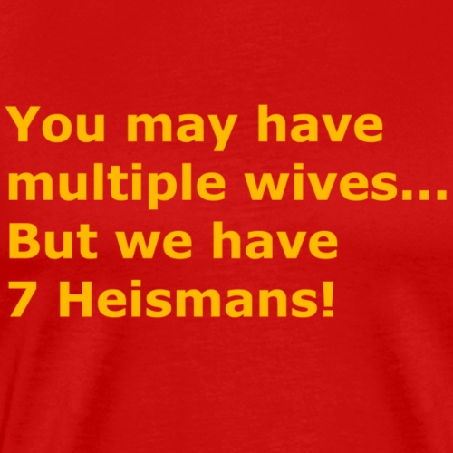 Multiple Wives - Men's Premium T-Shirt