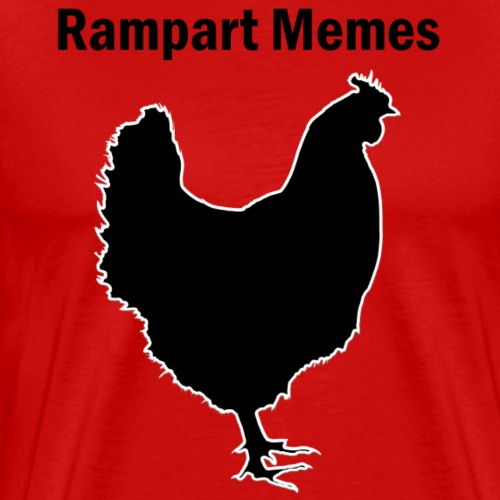 The Chicken - Men's Premium T-Shirt