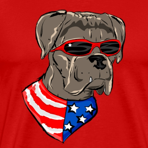 HoundTime Happy 4th (2) - Men's Premium T-Shirt