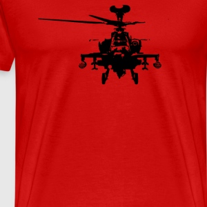 Military Attach Helicopter Gunship - Men's Premium T-Shirt