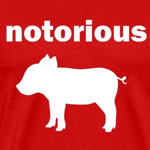 notorious pig - Men's Premium T-Shirt