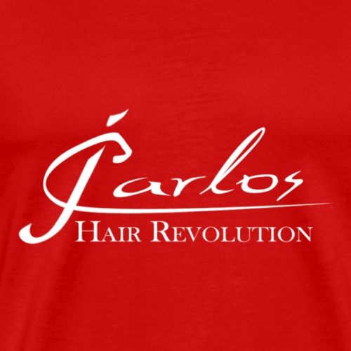 JCarlos MAIN LOGO white for for tshirts - Men's Premium T-Shirt