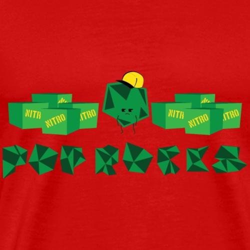 Green Pop Rocks - Men's Premium T-Shirt
