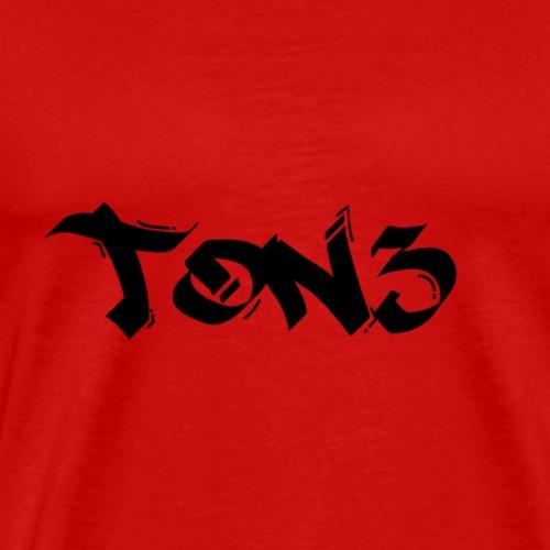 ton3 2 black - Men's Premium T-Shirt