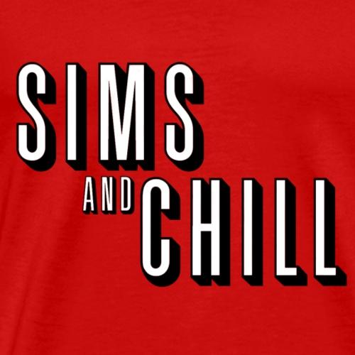 Sims & Chill # 2 - Men's Premium T-Shirt
