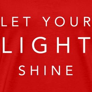 Let Your Light Shine! - Men's Premium T-Shirt