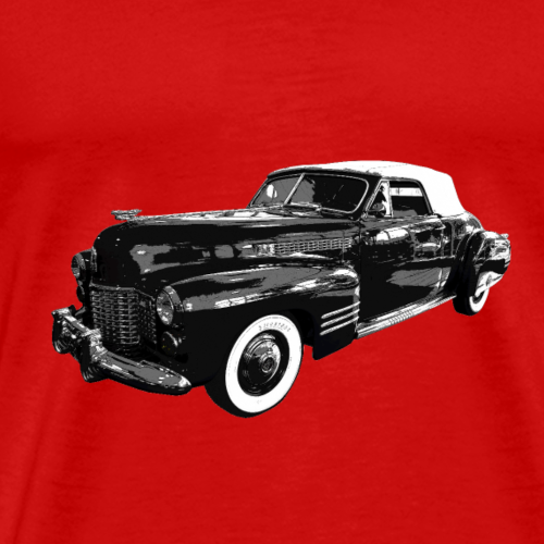 Vintage car Caddy 1941 - Men's Premium T-Shirt