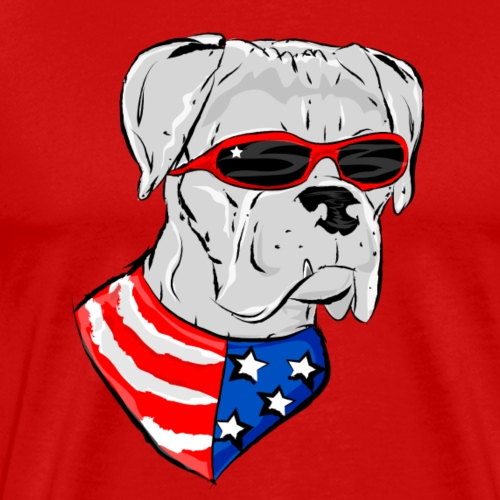 HoundTime Happy 4th - Men's Premium T-Shirt