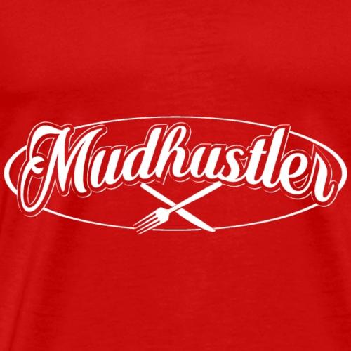 Mudhustler new logo - Men's Premium T-Shirt