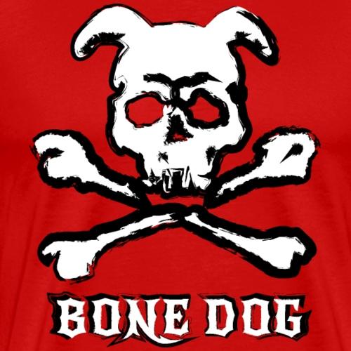 Bone Dog Pup Play Puppy Play Crossbones - Men's Premium T-Shirt