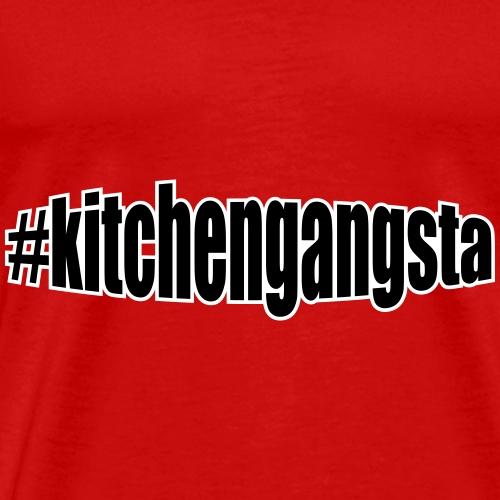 OG #kitchengangsta - Men's Premium T-Shirt