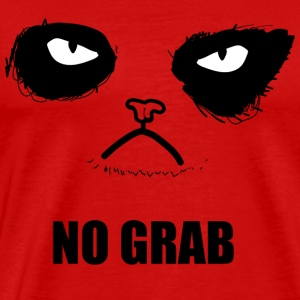 no grab - Men's Premium T-Shirt