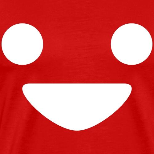 A Happy Face - Men's Premium T-Shirt