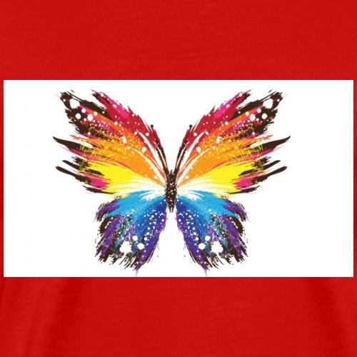 Colorful butterfly - Men's Premium T-Shirt