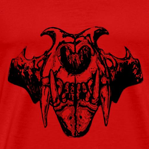 Skull Illustration - Men's Premium T-Shirt
