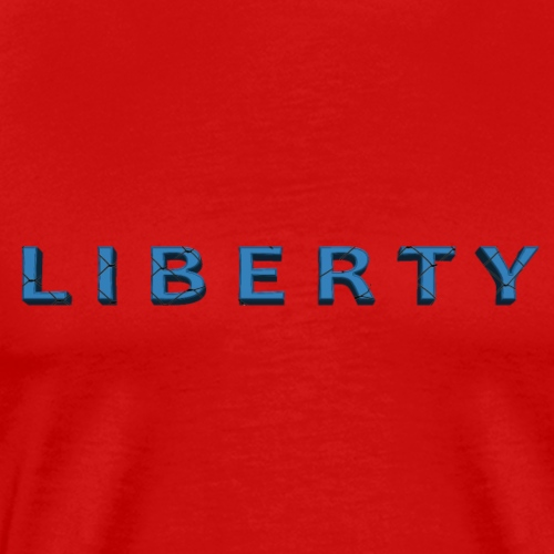 Liberty Libertarian Design - Men's Premium T-Shirt