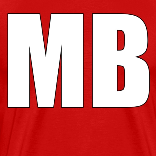 MB Logo Design - Men's Premium T-Shirt