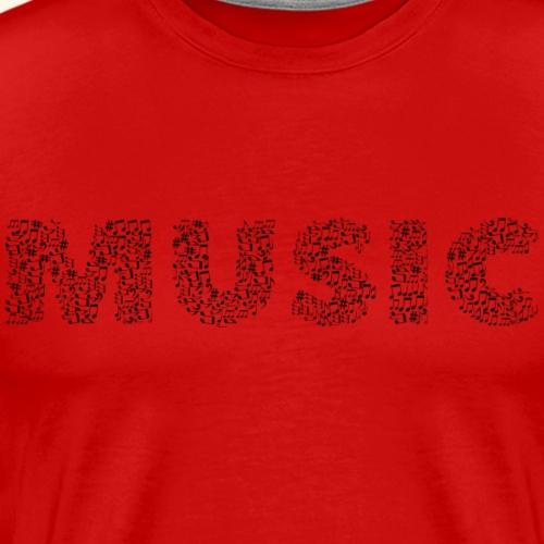 Music Life - Men's Premium T-Shirt