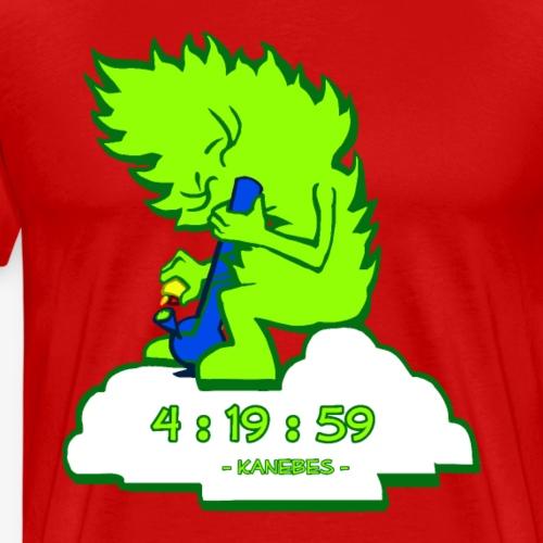 420 - Kanebes - - Men's Premium T-Shirt