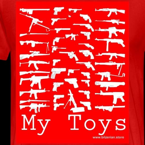 Bilzerian Weapons Toys - Men's Premium T-Shirt