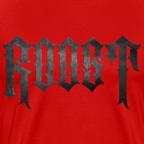 ROOST LOGO RUST - Men's Premium T-Shirt