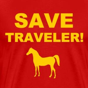 Save Traveler - Men's Premium T-Shirt