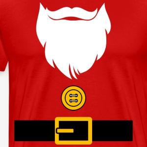 Funny Christmas Santa Costume - Men's Premium T-Shirt