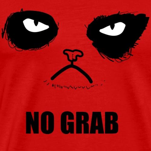 no grab - Men's Premium T-Shirt