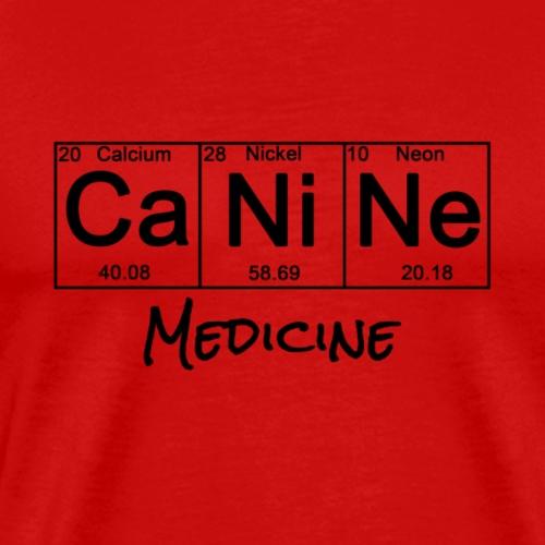 Periodic Table: canine - Men's Premium T-Shirt