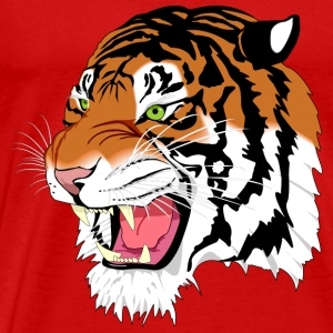 sumatran tiger - Men's Premium T-Shirt